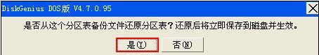 硬盘分区表修复4