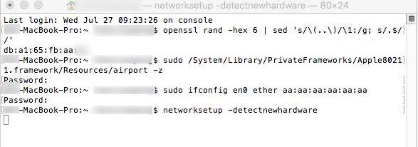mac地址修改4
